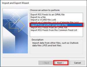 importing thunderbird contacts to outlook