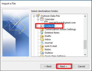 How to export contacts from Thunderbird to Outlook